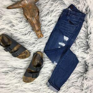 3x1 Sz 26 Super Distressed Skinny Jeans Designer